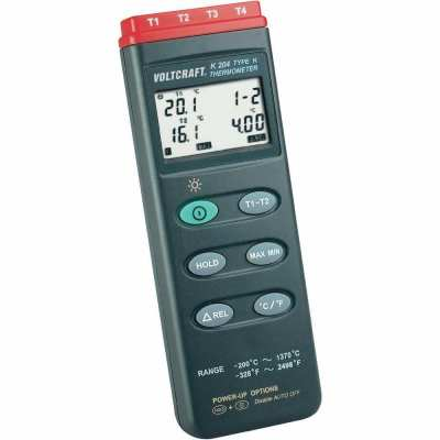 K204 merilnik temperature, termometer -200 do +1370 °C K